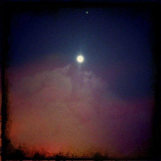 Luna de Enero Luna Enero January Moon CottonCandy Sky Star MyView Oaxaca Mexico