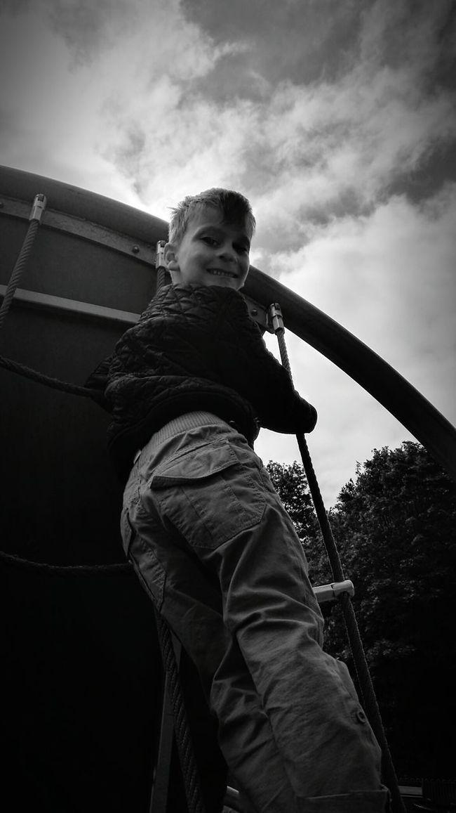 Outdoors Fun Park Playground Blackandwhite Black And White Black & White Below Under