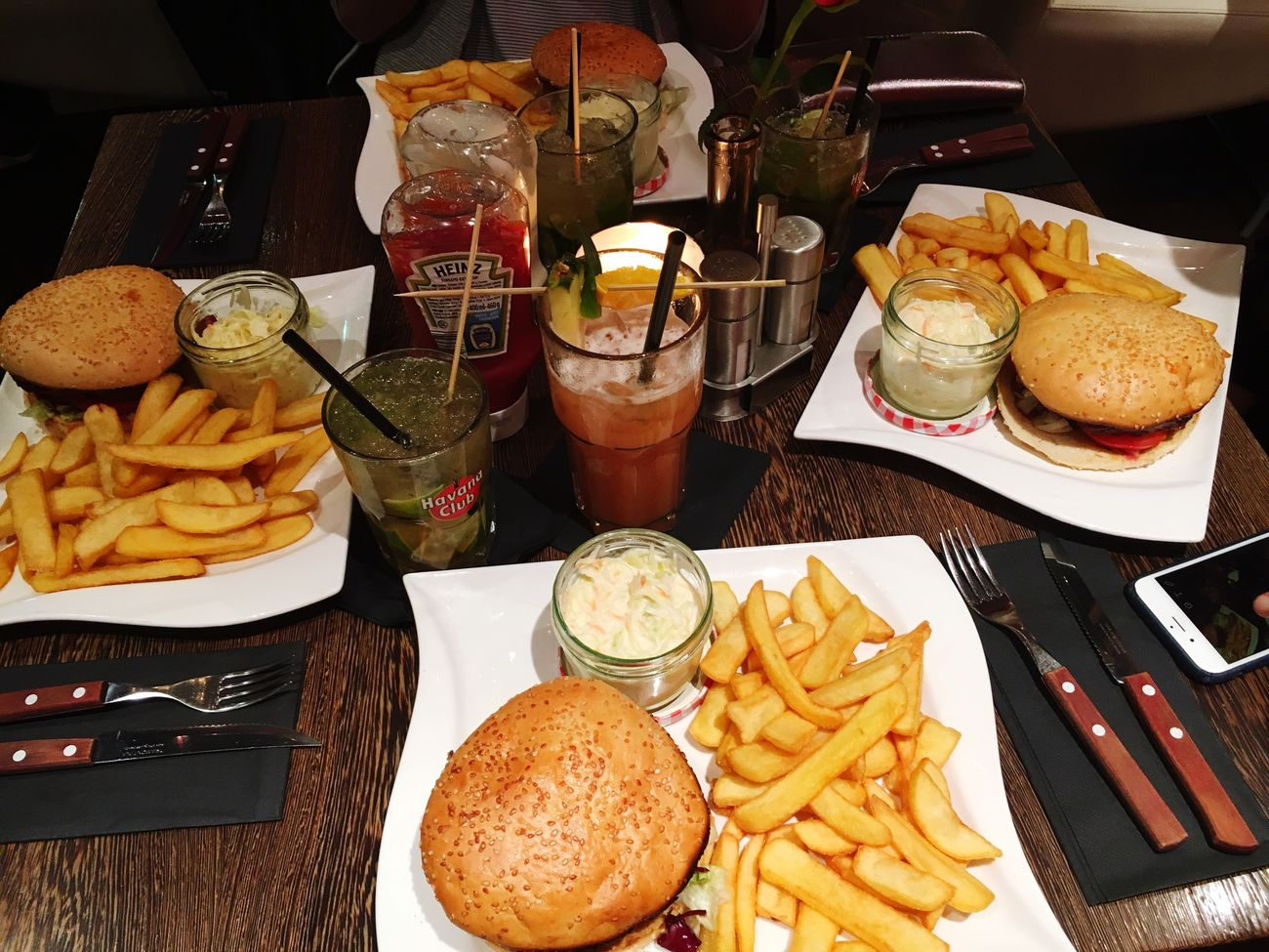 Mmmm. 🍔❤️ Food Ready-to-eat Food And Drink Burger Cocktails Girl Foodporn Enjoying Life Hello World Steakhouse Gernany Fries! Yummy Table Plate Drink Fast Food Yesterday Love Lifestyles Light And Shadow Check This Out Beautiful Taking Photos 2016