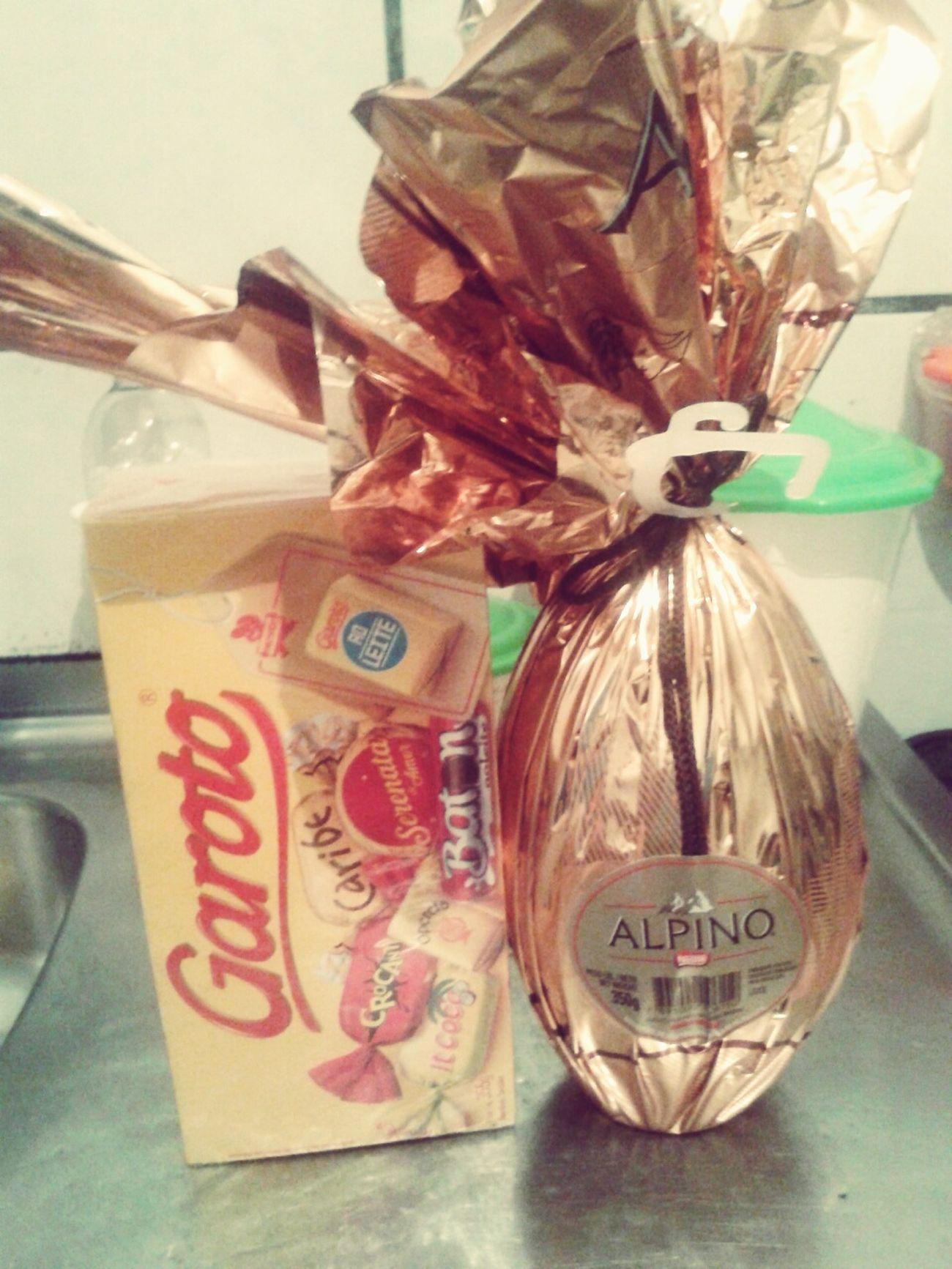 Ja comecei a ganhar ; ) Chocolate♡ amoo