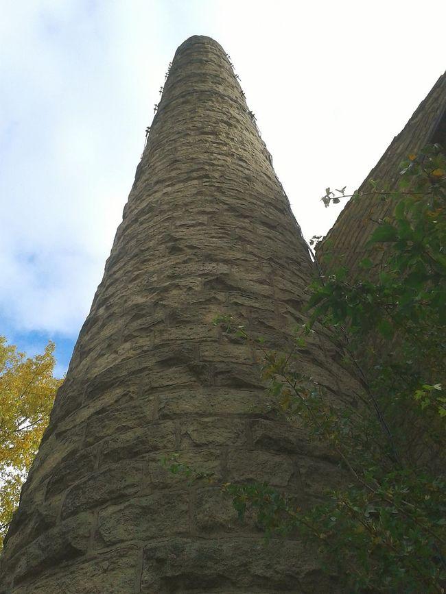 Chimney Mill Tower Smokestack Phallicthings Sky Canal Walks Autumn Walking Around Walking Around