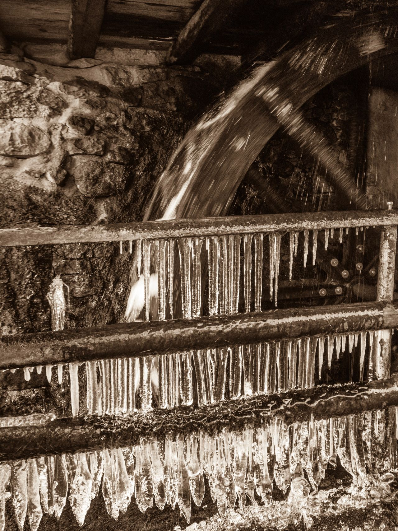 Black Forest Tranquil Scene Architecture Built Structure Hydroelectric Power Wood - Material Rural Scene Village Icicles Water