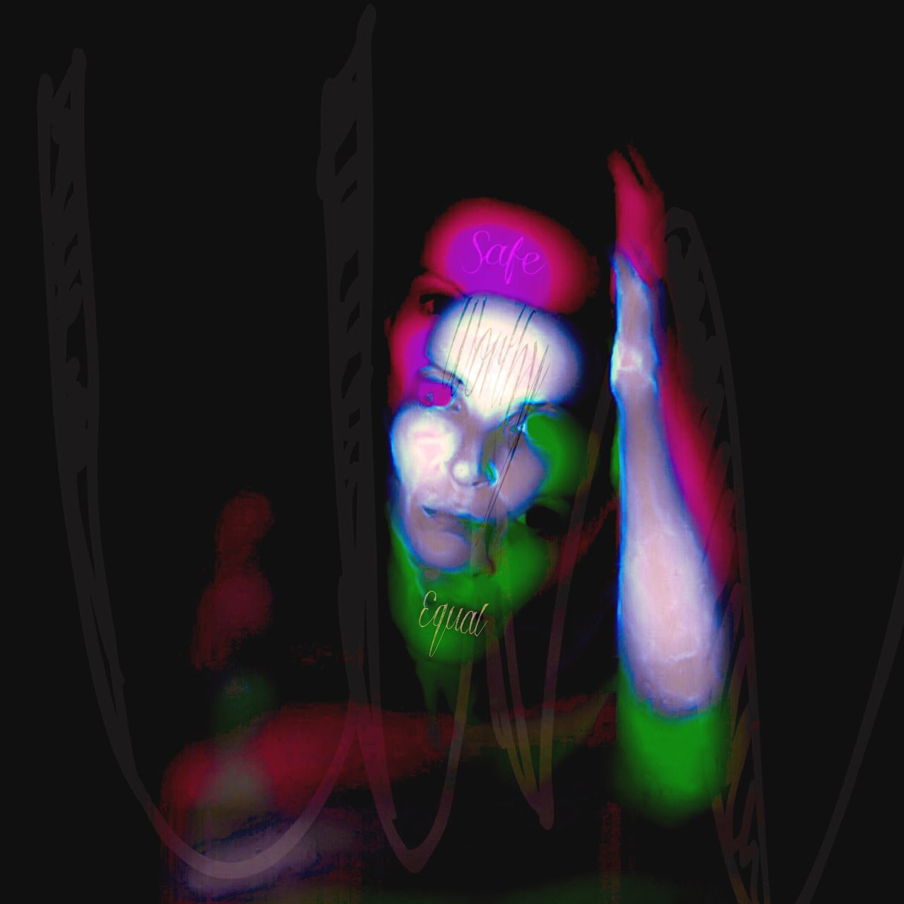 I Hate It When People Make Me Feel Like This Unsafe Unworthy Unequal Women Of EyeEm Faces Of EyeEm Portrait Digital Painting Colour Burst Female Portraits Photomanipulation Self Portrait Scotland Rebelpunk Contemporary Art Photo Manipulation Creative Photography Digitalart  Photo Editing Digital Art Woman Portrait Artist Independent Woman