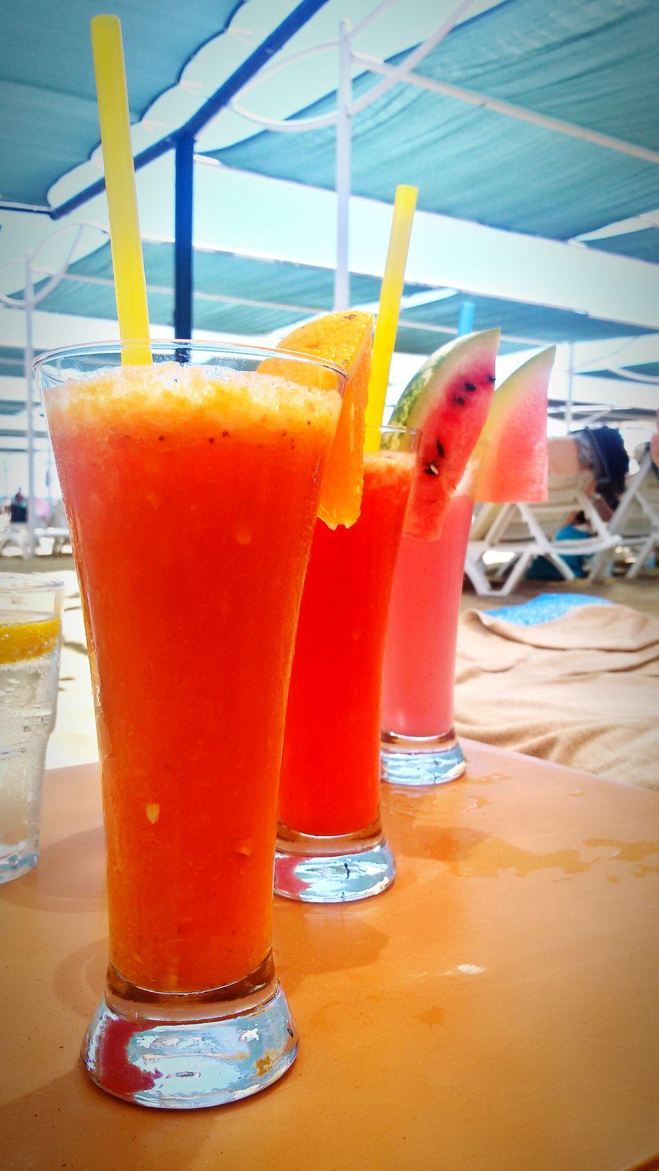 Cocktails Cocktails🍹🍸 On The Beach Turkey Delicious ♡ *-* Nice Day Schönes Wetter Sun