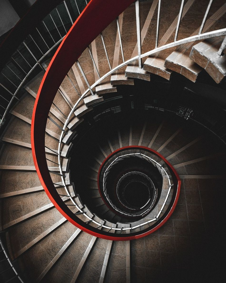 Spiral Staircase Spiral Goldenratio Lookdown Urban Geometry Geometry Architecture Showcase April