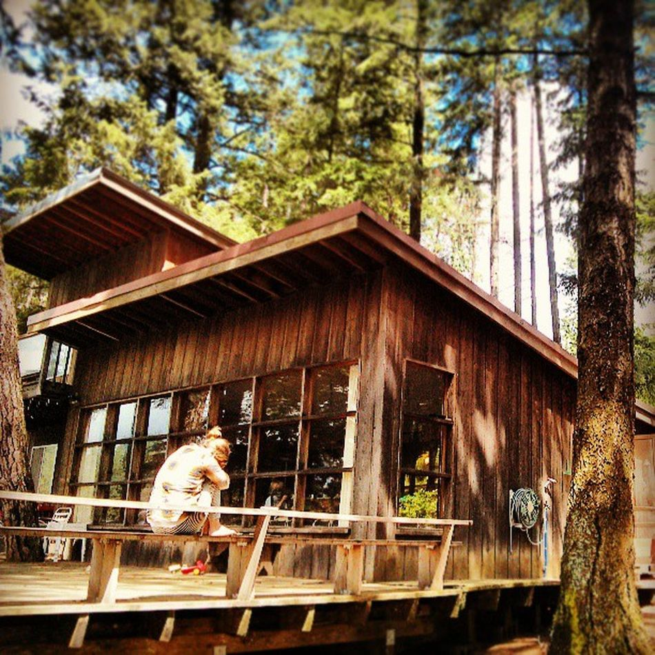 Last day at the Lakehouse . Hayden  Haydenlake Idaho Lake Water Woods Forest Vacation Relaxing Scenic Beauty Nature Instagood Photooftheday