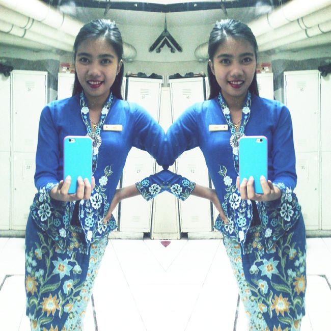 Wearing this kebaya, a touch of baba nyonya sense only in melaka 💁 FeelingProud Babanyonya Melaka