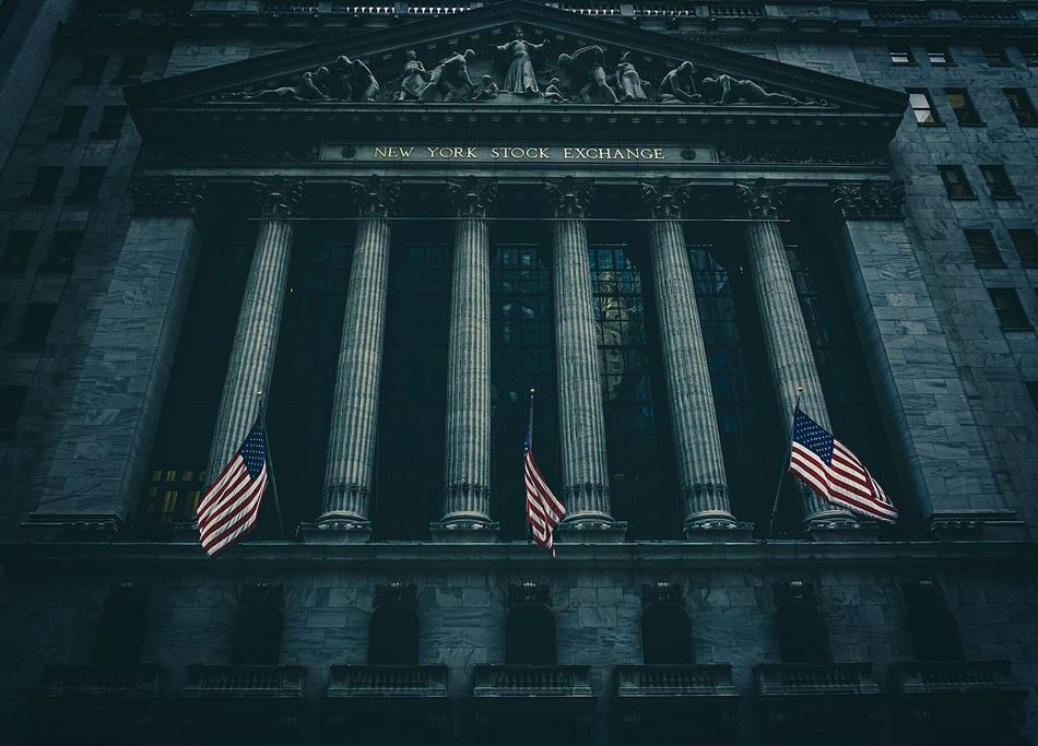 Beautiful stock photos of stock exchange, American Flag, Architectural Column, Architecture, Building