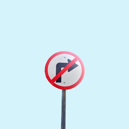 To the left, to the left Traffic Traffic Sign Turn Left Minimal Minimalism Minimalistic Minimalmood