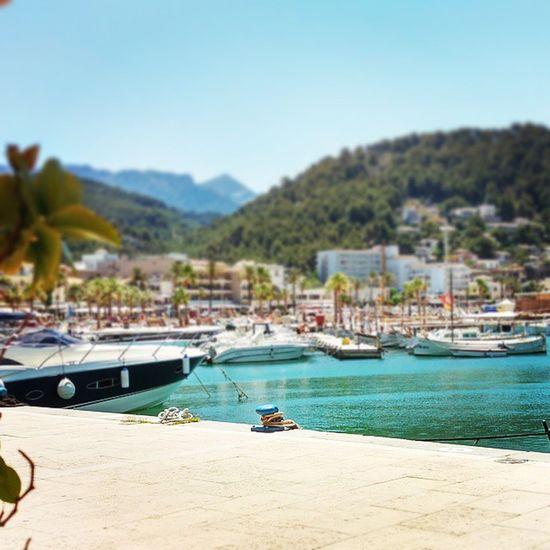 Enjoying a casual Sunday in the sun. Vacationtweet Lifeisgood Portdesóller Mallorca Baleares Spain