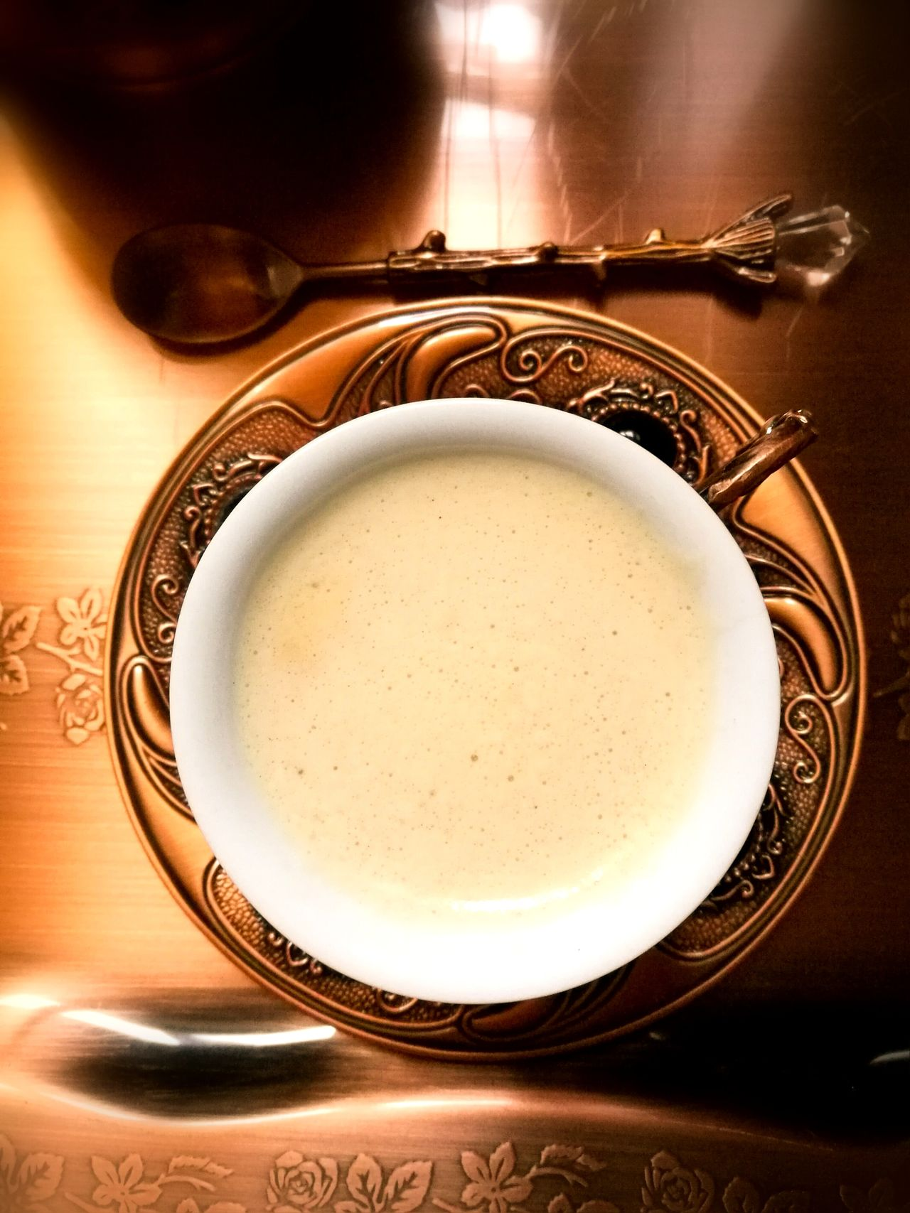 Pause café Arabic Coffee 😍😘 Arabic Coffe كرامة EyeEm Selects Indoors  Table No People Plate Food And Drink Close-up Gold Colored Food Drink