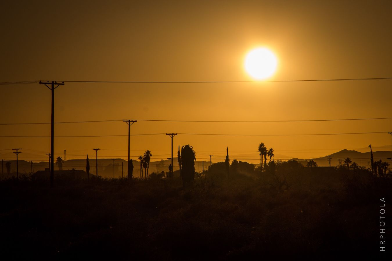 Sunset Yellow Clearsky Imperial Valley Riversidecounty Desert Saltonsea Deserted Serenity Peaceful Beautifulview Mountain
