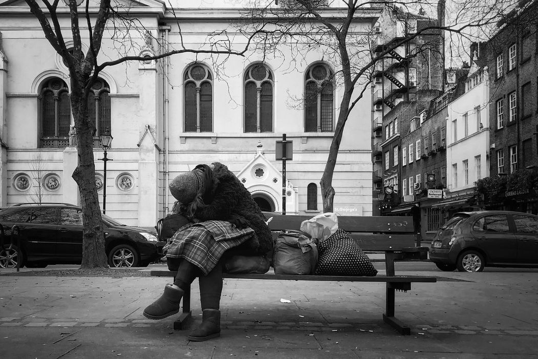 www.justgiving.com/crowdfunding/ourhomeless - Charity Helping Others Helping Help Help Our Homeless People Help Our Homeless Outdoors City Street Building Exterior Real People Women Social Issues Homeless Ugg Boots When None Of This Really Matters