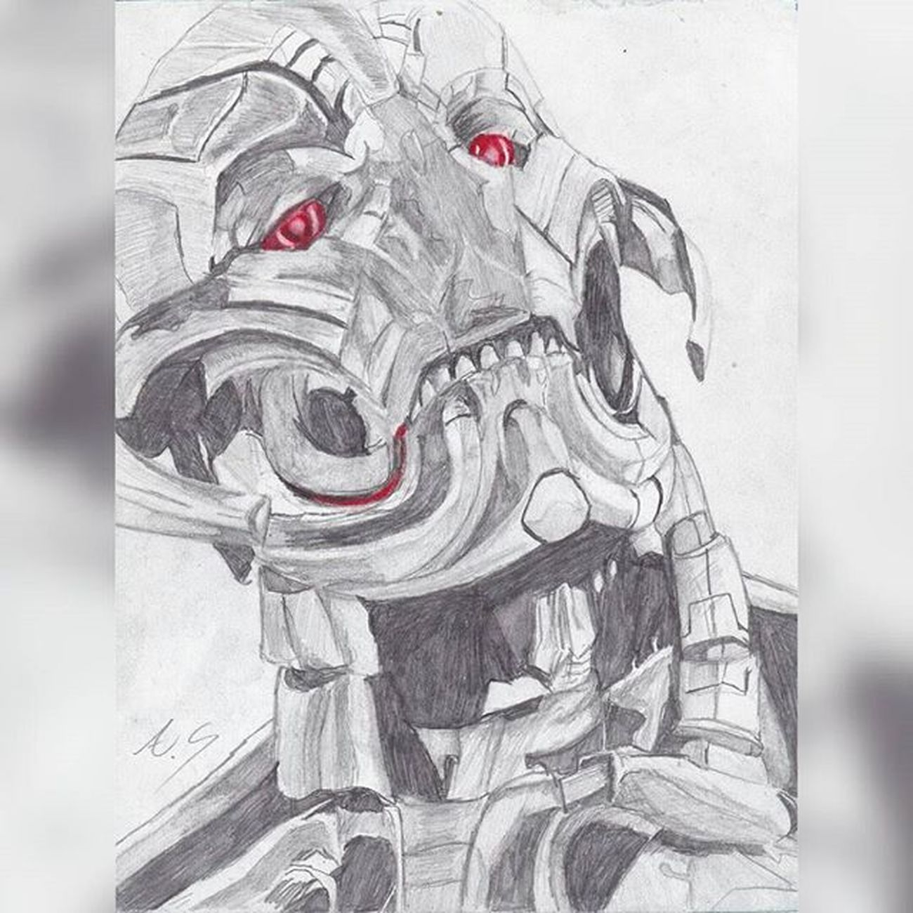 """There are no strings on meee.."" This is a repost of my art but now in way better quality! I hope everyone likes!! Ultroooon!! -u- absolutely obsessed with this guy as many of yah know 😂 Art Sketches Fanart Instart Drawings Ultronprime Ultron Marvelentertainment Mcu Movies Nerd Comics Ageogultron Avengers Theavengers JamesSpader Villians Disney Marvel Portrait Illustration"
