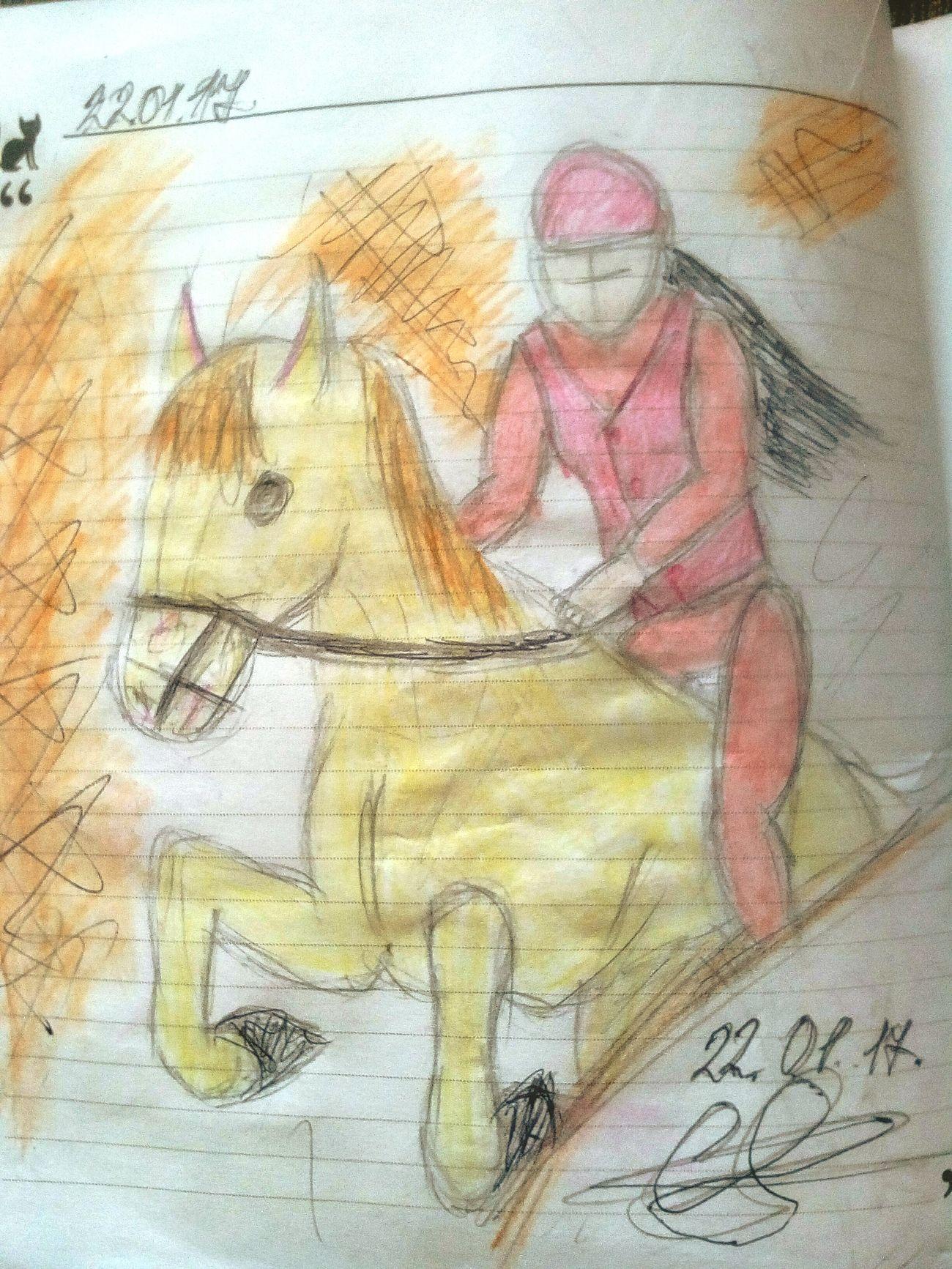 Painted Image лошадь People рисунок First Eyeem Photo