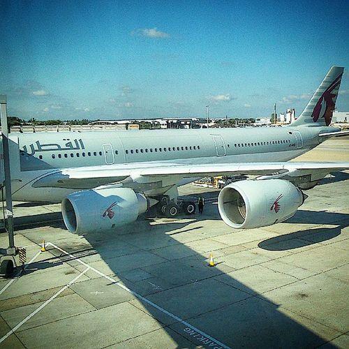 Boarding!!!!! UK -> Qatar -> KUWAIT!!! NoHashtags AhhWhatTheHell CoupleWontHurt Kuwait HomeBound SeeYouSoonUK