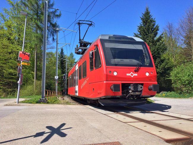 Coming up Szu Train Zvv Trainstation Red Streamzoofamily EyeEmSwiss Public Transportation Traveling