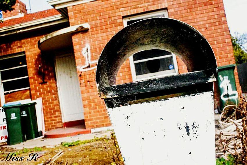 Abandoned House Abandoned Buildings Nunber 1 Old Letterbox Red Brick Rubbish Bins Broken Windows