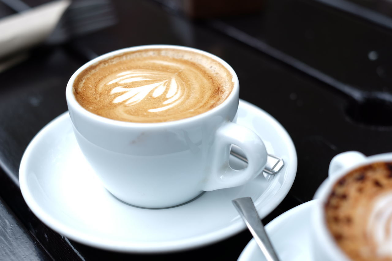 Cappuccino Close-up Coffee - Drink Coffee Cup Drink Espresso Food And Drink Latte Mocha No People