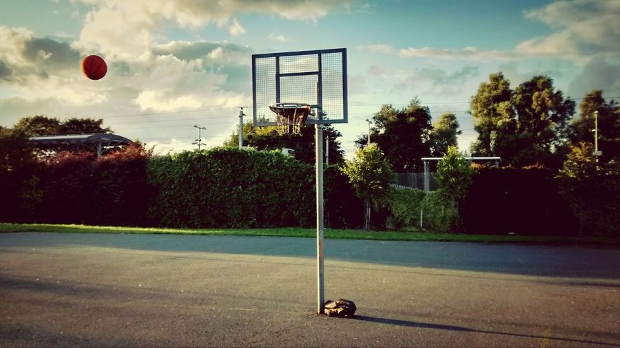 Nothing but net :-p Sport Recreation  Basketball