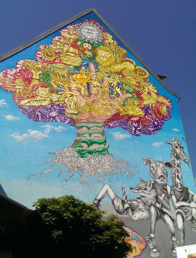 Streetart Hello World Munich München-Pasing Taking Photos Check This Out Hi!