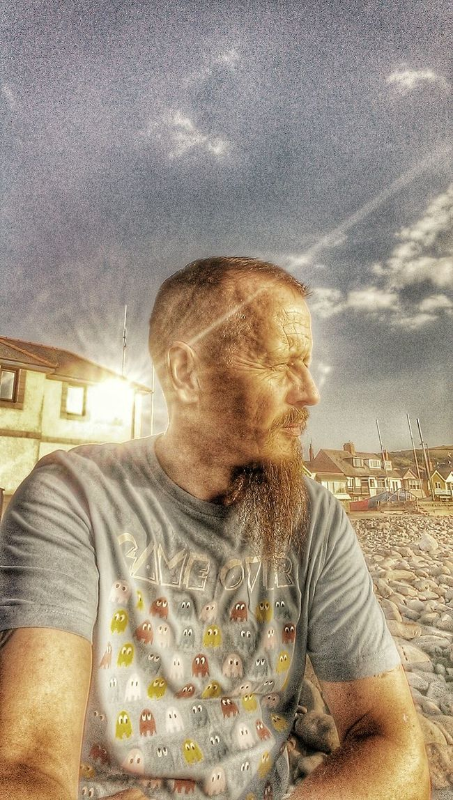 Getting Inspired HDR Selfportrait That's Me HTC One
