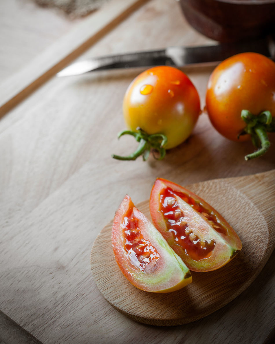 Agriculture Asian Food Bio Food Close-up Culture Food Food And Drink Food Stylist Freshness Fruit Gourmet Healthy Eating Indoors  Kitchen Ladle No People Plant Plate Raw Food Ready-to-eat SLICE Table Tomato Traditional Vegetable