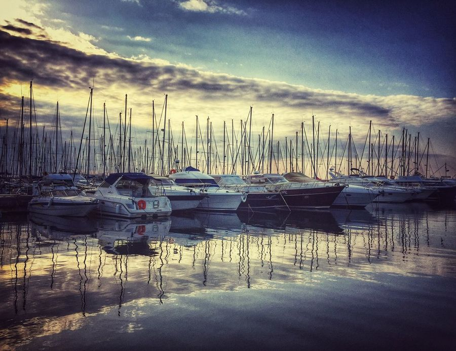 Port Going Sailing Starting A Trip Yacht IPhoneography Check This Out Sea_collection