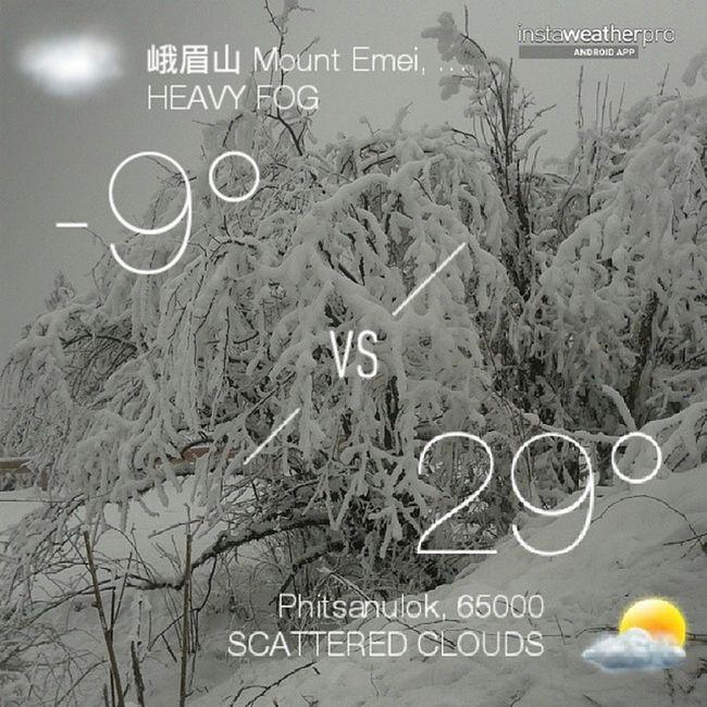 Emeishan Snow❄ Snow Storm