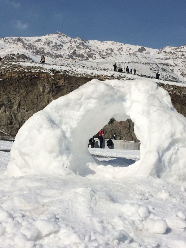 Beauty In Nature Tehran, Iran Snow Winter Cold Temperature Mountain Nature White Color Weather Beauty In Nature Outdoors Tranquility Glacial Tochal