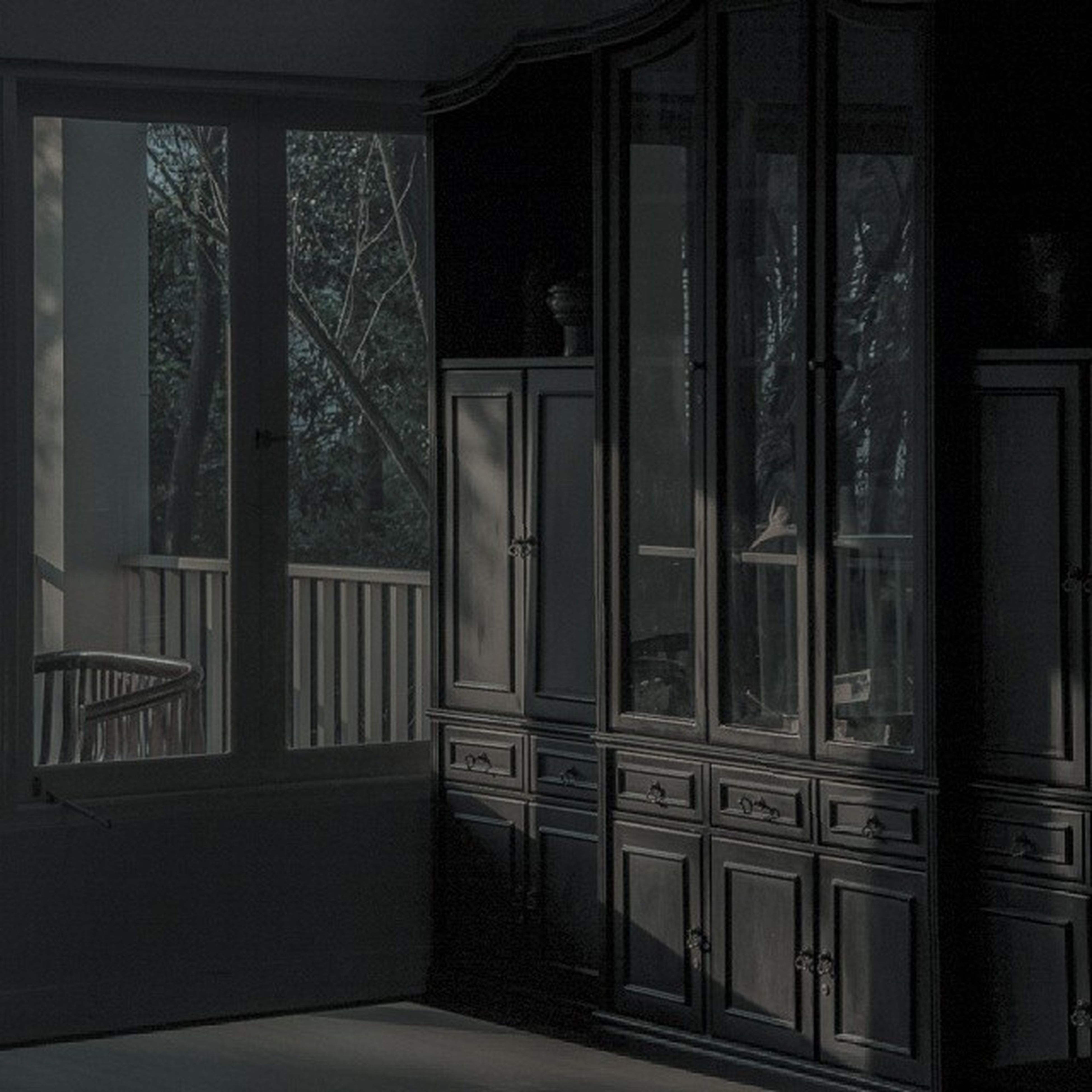 architecture, built structure, window, door, indoors, building exterior, closed, house, entrance, wood - material, old, no people, building, glass - material, open, day, sunlight, residential structure, architectural column, doorway
