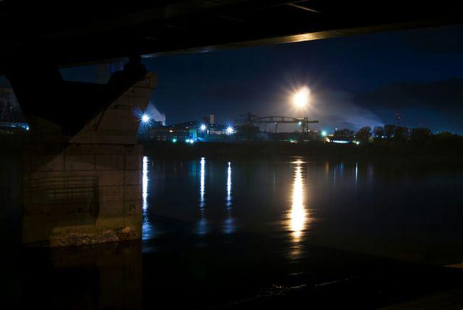 River Night Lights EyeEm Best Shots EyeEm Best Edits Bridge Urban Nightphotography Night Reflection I Love My City