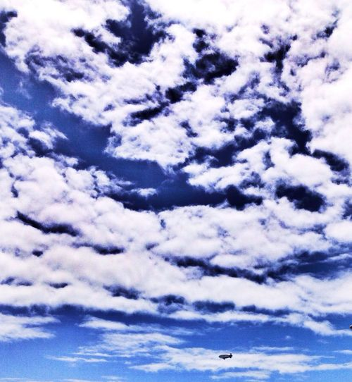 Blimp spotting. Clouds And Sky Taking Photos Enjoying Life Hanging Out IPhoneography Relaxing Check This Out Walking Around skyporn sky