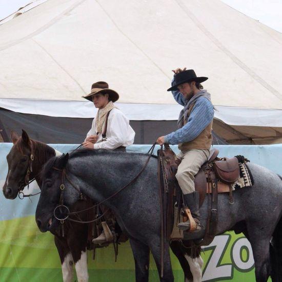 Texas cowboys for @rrichdouglasd Enjoying Life Horse Cowboy Texas