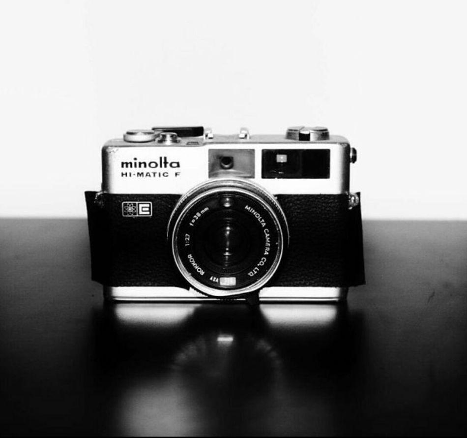 Old School Camera Minolta Blackandwhite