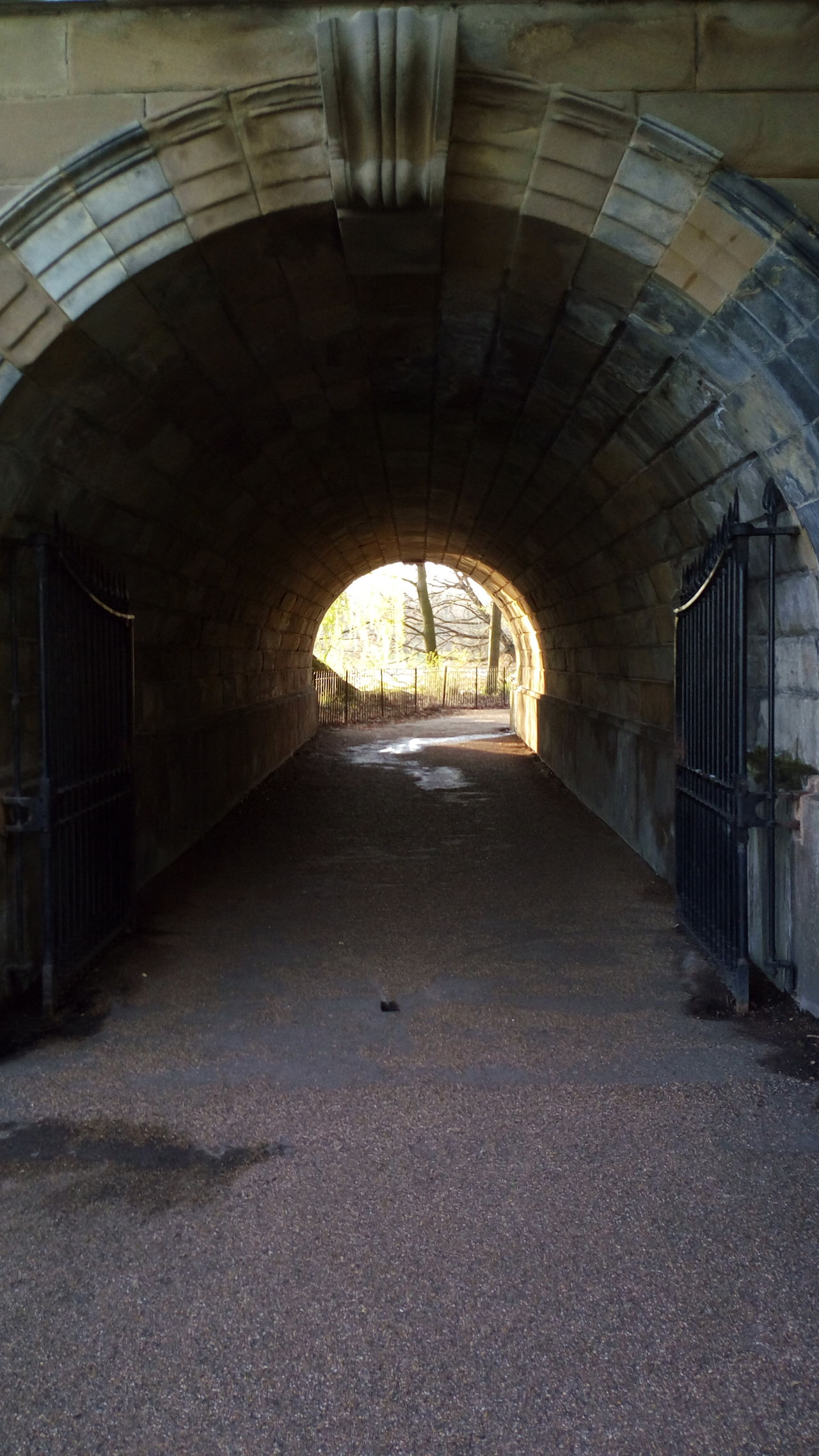 Tunnel Architecture Built Structure
