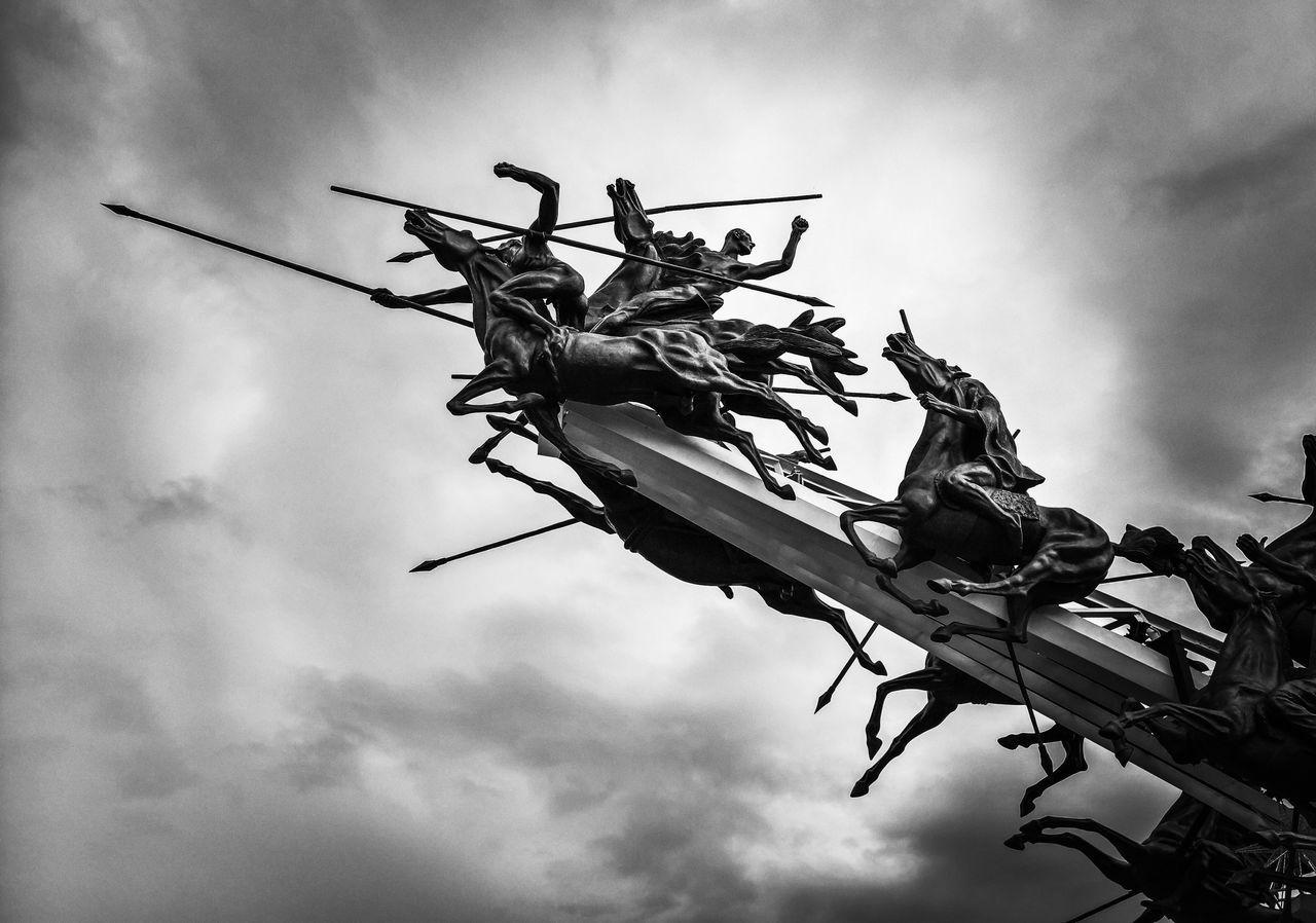 Vargas Swamp Lancers Memorial, Monumento de los lanceros del Pantano de Vargas. Swamp Lancers  Pantano Lanceros Monument Monumento Battle Batalla Independence Independencia Freedom Libertad Courage Coraje Adapted To The City EyeEmNewHere