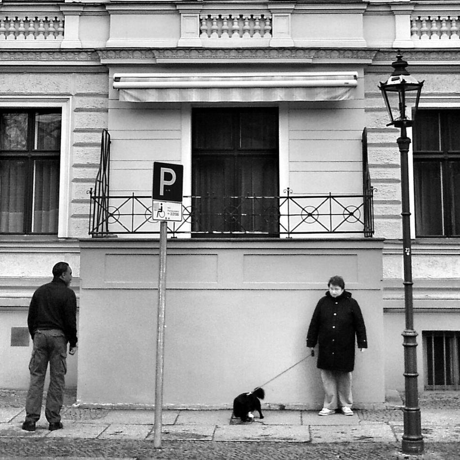 Neighborhood Streetphoto_bw Trottoir