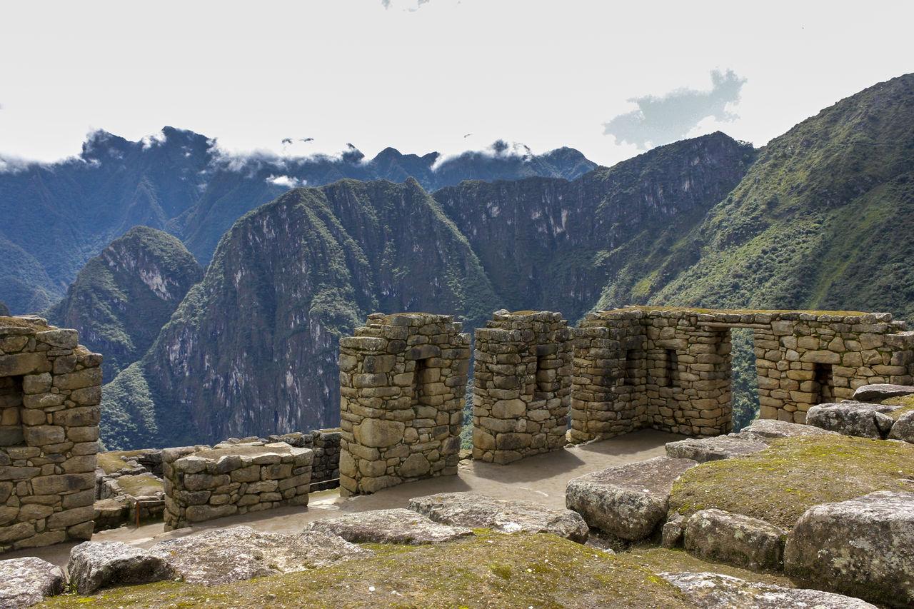 Machu Picchu - Incas Civilization Ancient Ancient Civilization Architecture Arquitecture Clouds Green Historical Building History Landscape Machu Picchu Mountain Mountain Range Nature Outdoors Peru Rocks Sky South America Tourism Tourist Travel Travel Destinations