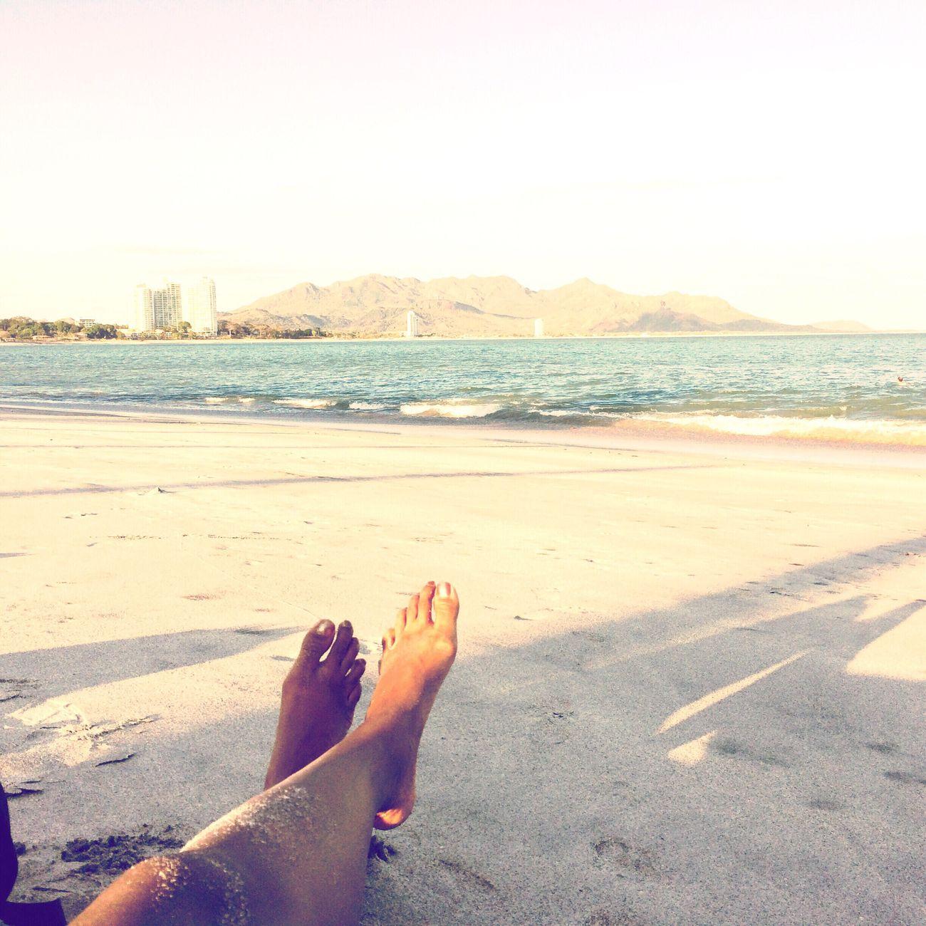 Sandy legs at the beach. Panamá Beach Legs Sand Sandy Ocean Shore Coronado Vacation Leisure Relaxation Horizon The Essence Of Summer