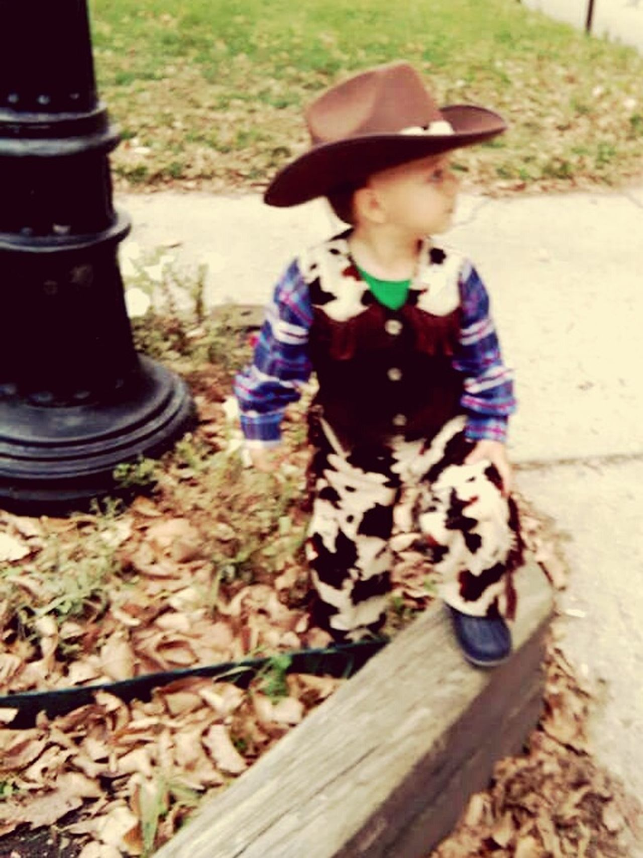 Cowboy Cute Cosplay Child Handsome Boy Littleman Western Wrangler
