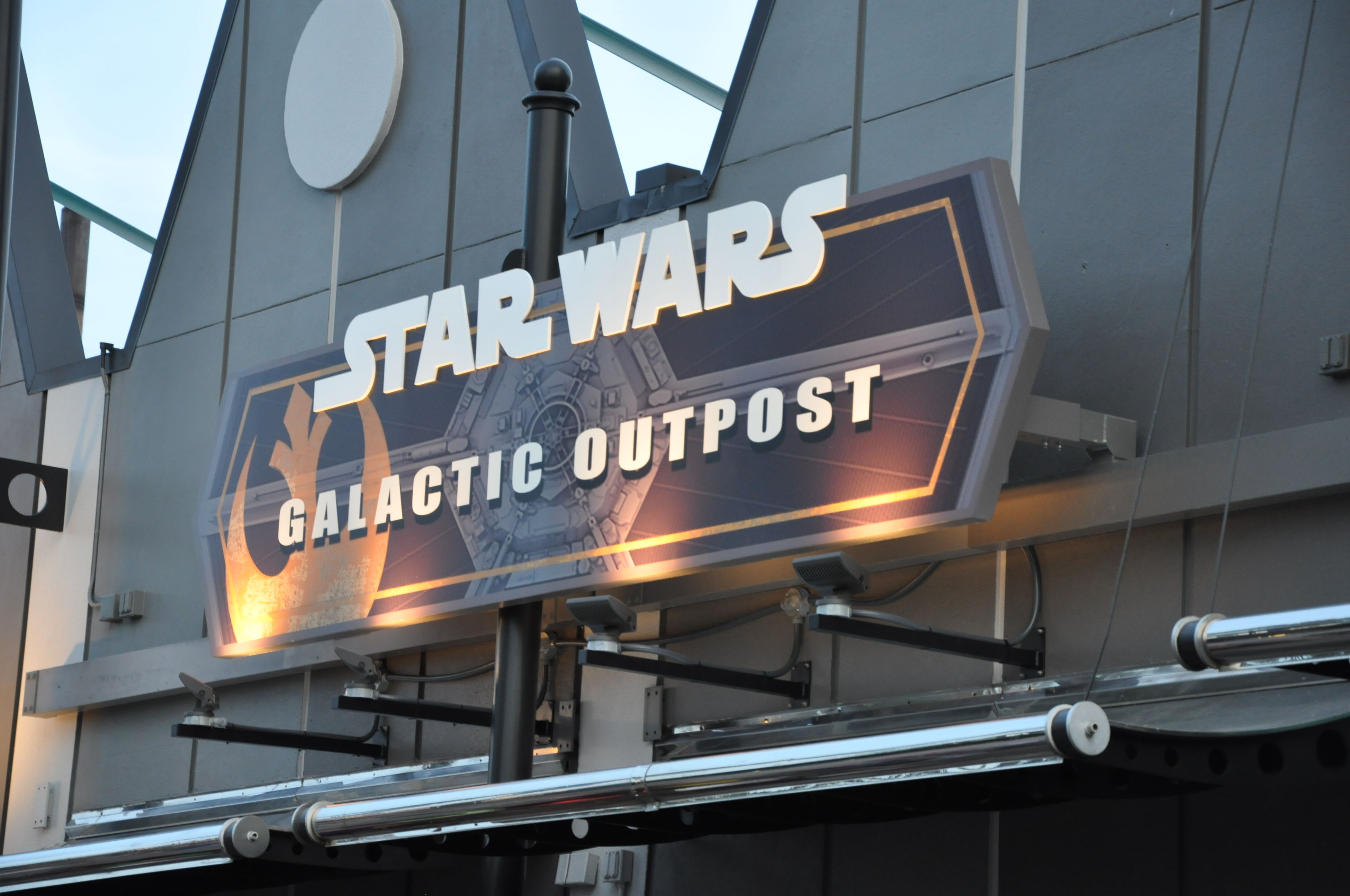 Airport Architecture Arrival Built Structure Clock Face Communication Day Discover Your City Galactic Outpost No People Outdoors Star Wars Text Transportation Travel