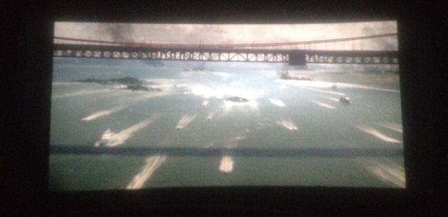 SAN ANDREAS MOVIE Amazing Action The Rock Actor San Francisco Golden Gate Bridge Cinema Movie Time