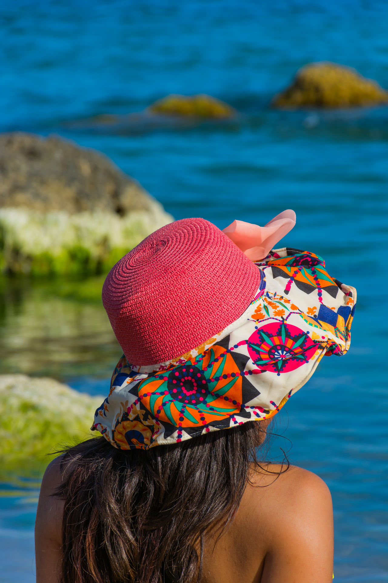Girl Hat Holiday Holiday POV Holidays Sea Sea And Sky Seascape Seaside Summer Summertime Travel Travel Destinations Traveling Woman Woman Portrait Womanity