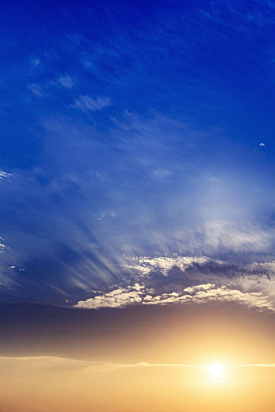 Evening Setting Sun