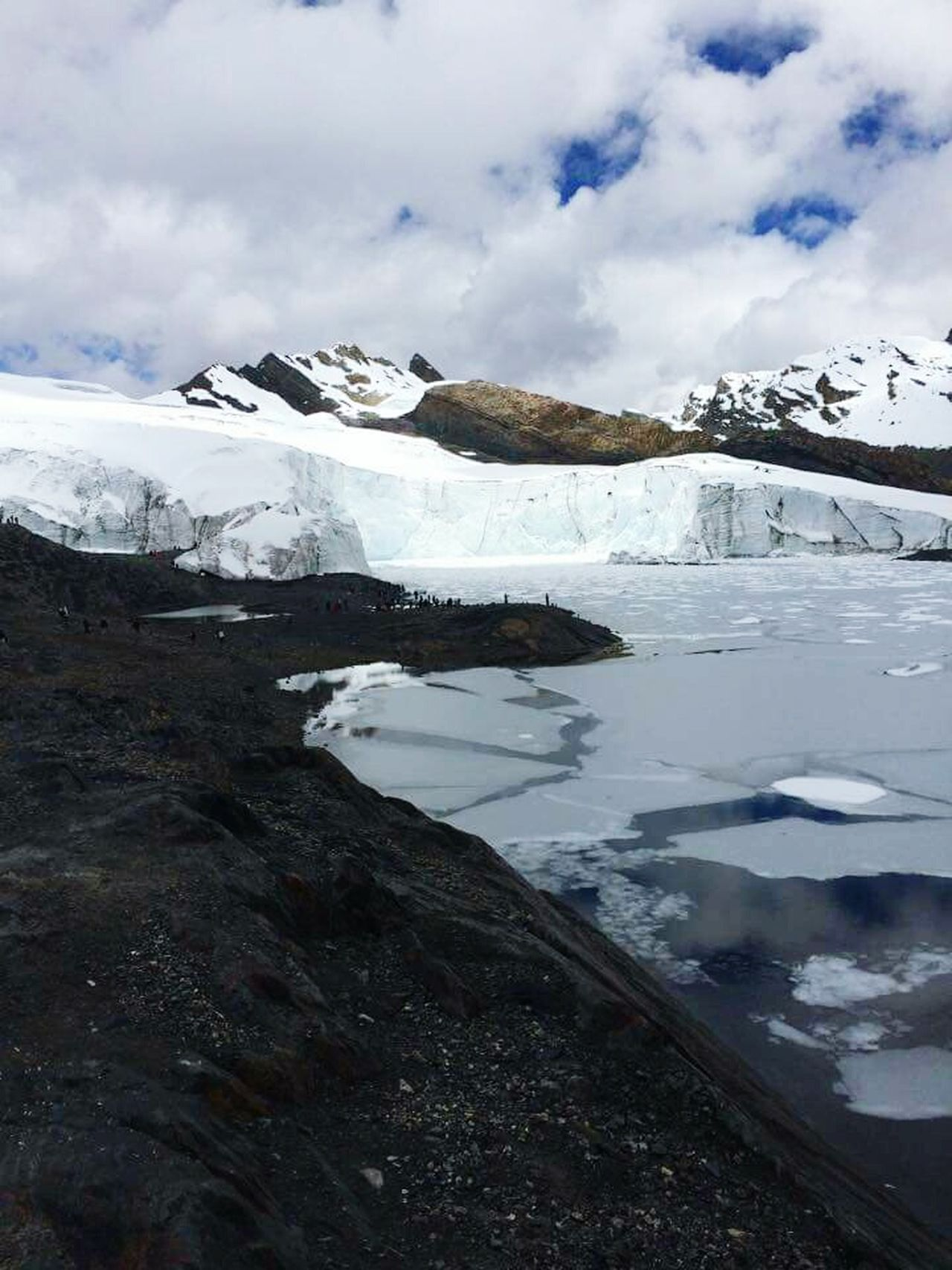 Iceberg Pastouri Peru 2015  Cordillera De Los Andes High Altitude Andesmountains Cold Air