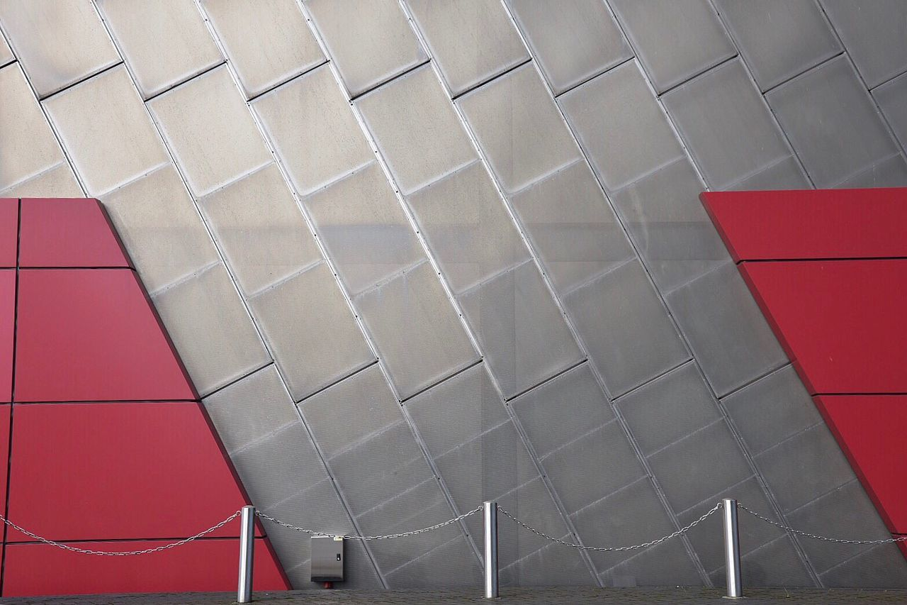 red, no people, day, indoors, architecture, close-up