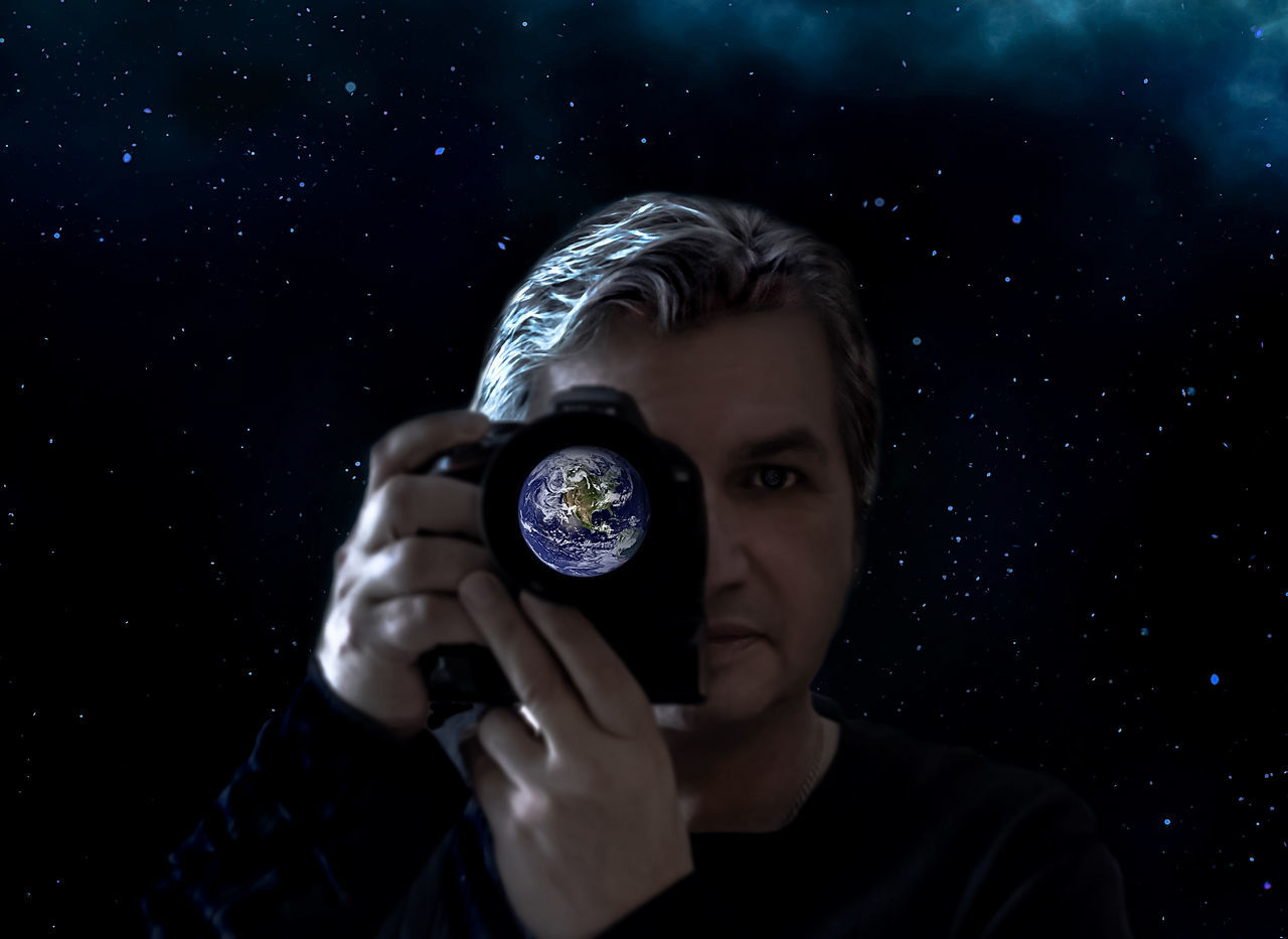 https://www.youtube.com/watch?v=tRcPA7Fzebw Astronomy Communication Dark Earth Edit From My Point Of View Front View No Edit No Fun One Man Only One Person Photographer Planet Portrait Star - Space Starman Stars Stars & Dreams Taking Photos Thats Me  Selfie-millionaires Break The Mold Cut And Paste The Portraitist - 2017 EyeEm Awards BYOPaper! Real People