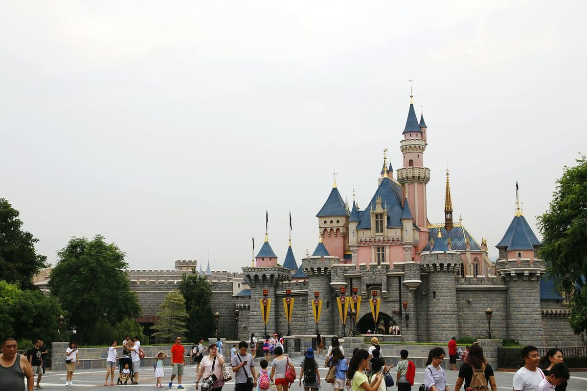 Hong Kong Disneylandresort Disneyland Disney 香港 Disney Land DisneyLandHongKong Disneyland<3 HongKong Disney Castle Being A Tourist