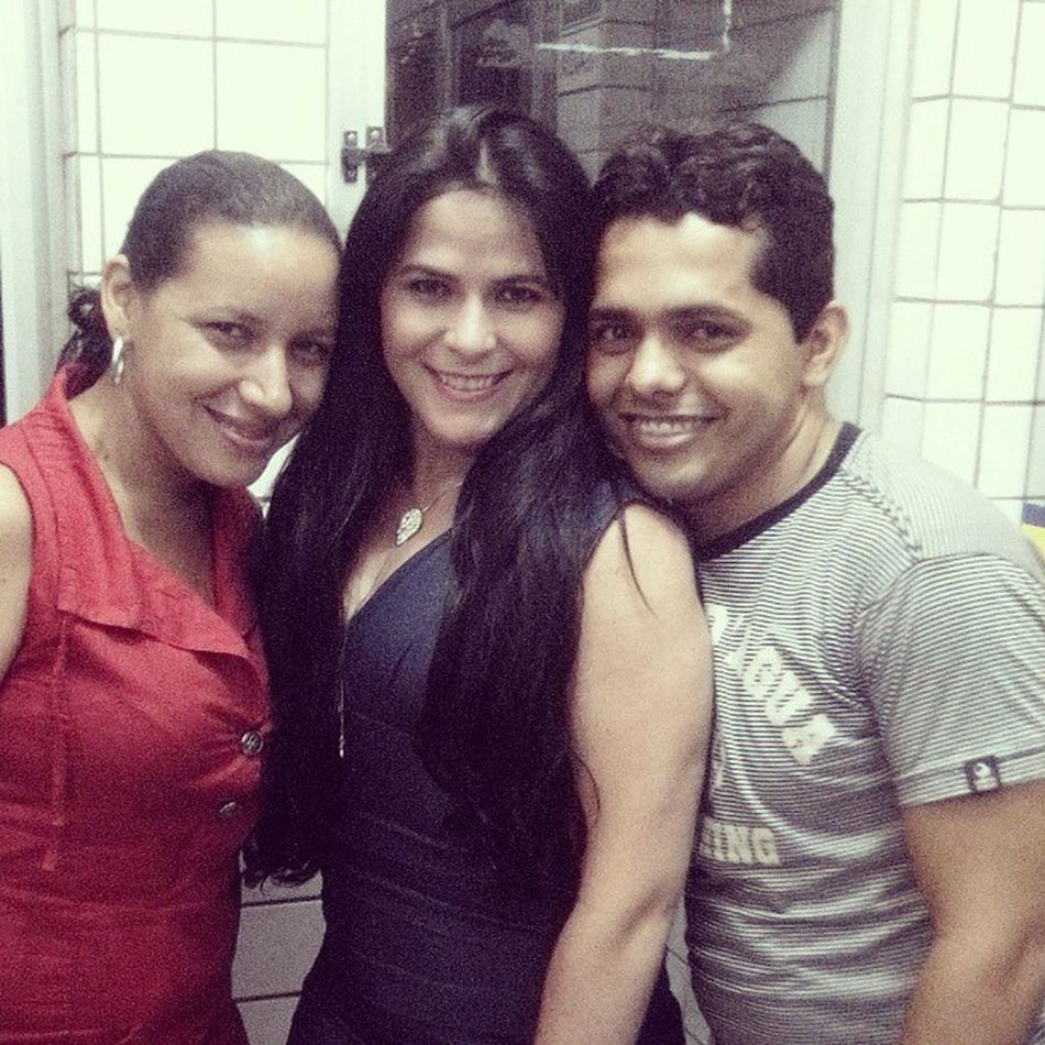Com BetanhaAlves e @cristalejefferson em THE...
